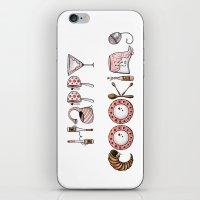 cooking iPhone & iPod Skins featuring Happy Cooking by Mariya Olshevska
