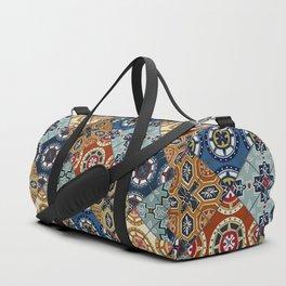 DESEO spanish tiles Duffle Bag
