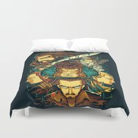 hobbit Duvet Covers featuring The Hobbit by anggatantama