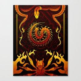 Scolopendra Canvas Print