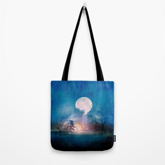 Moon Above, Sun Below Tote Bag