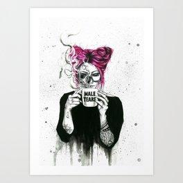 Queen of tears Art Print