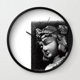Woman Face Wall Clock