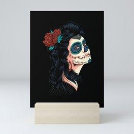 Cute Lady of the Dead - La Calavera Catrina Mini Art Print