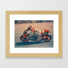 Moto Framed Art Print