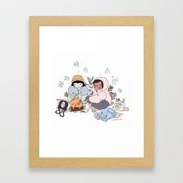 CALCI FER Framed Art Print