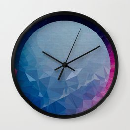 ambidextrous planet Wall Clock