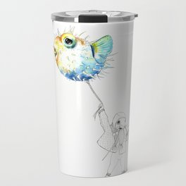 Pufferfish - Puffed up Travel Mug