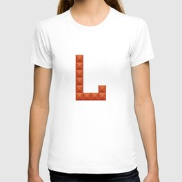"Letter ""L"" print in beautiful design Fashion Modern Style T-shirt"
