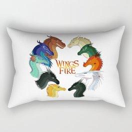 Wings of Fire Rectangular Pillow