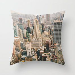 NEW YORK CITY II Throw Pillow