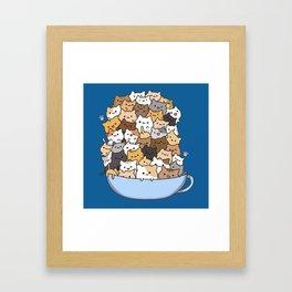 Cute Framed Art Print