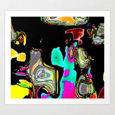 Bent Spots 1 B Art Print