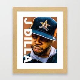 J dilla Print Framed Art Print