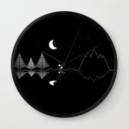 Night Ride Wall Clock