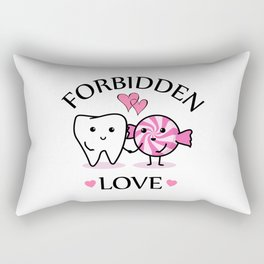 Forbidden Love Rectangular Pillow