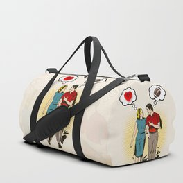 On Vastly Different Wavelengths Duffle Bag