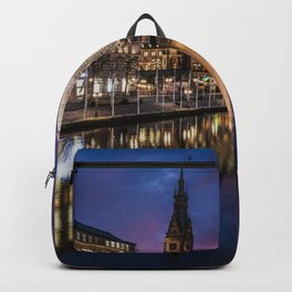 Hamburg Christmas Market Backpack