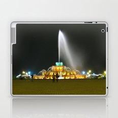 Fountain #1 Small Laptop & iPad Skin