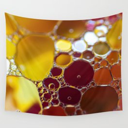 Colourful bubbles Wall Tapestry