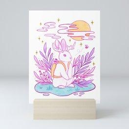 Plant Jackalope Mini Art Print