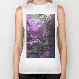 Monet's Garden (Color) Biker Tank