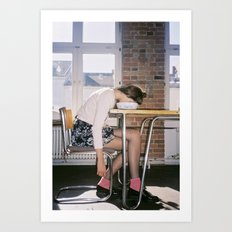 Art Print by Ophelie Rondeau - #ophelieandthegirls | October 2015 Art Print