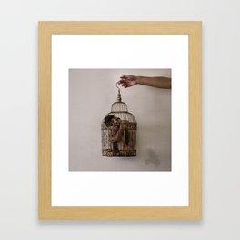 Caged Framed Art Print
