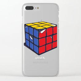 Solved It Clear iPhone Case