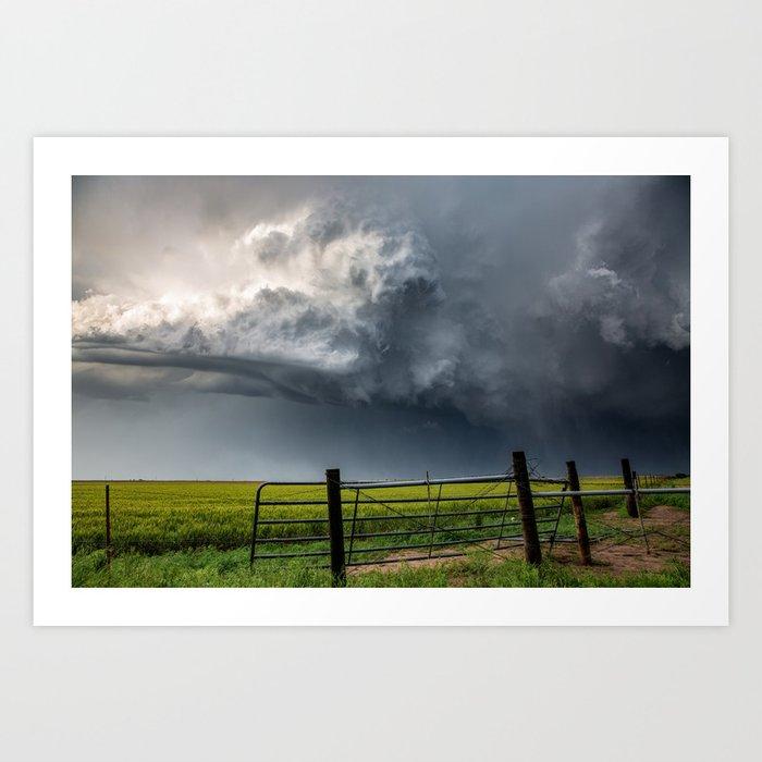 Harmony - Storm Cloud Over Southern Plains Kunstdrucke