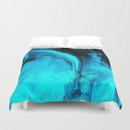 Blue Splash Duvet Cover