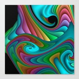 fractal squares -04- Canvas Print