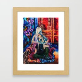 """Teardrop"" Painting Framed Art Print"