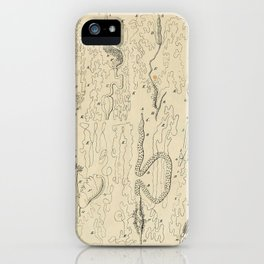 Microscopic Biology iPhone Case