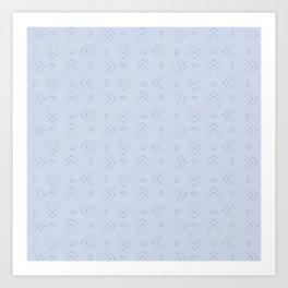 Simplistic Pattern (v2) Art Print