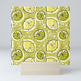 Atomic Lemonade_Green Mini Art Print