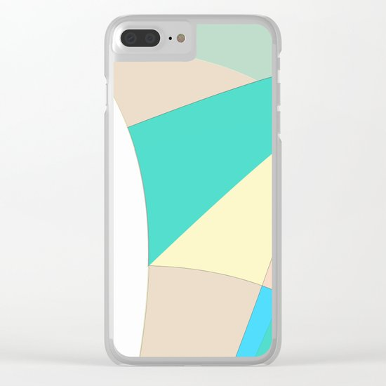 Pattern 2017 027 Clear iPhone Case
