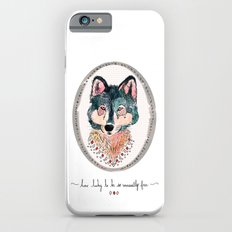 how lucky to be so unusually free iPhone 6s Slim Case