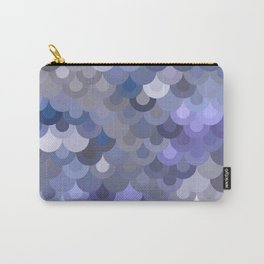 Blue Scales Carry-All Pouch