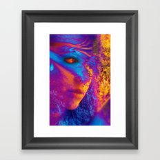 Mask Framed Art Print