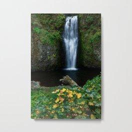 Multnomah Falls -- Lower Falls Metal Print