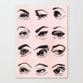 Iconic Eyes Canvas Print