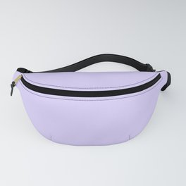 Pale Lavender Violet Fanny Pack