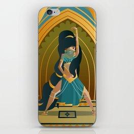 arabian belly dance dancer girl iPhone Skin