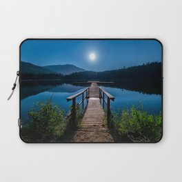 Bright Night Sky at British Columbia Laptop Sleeve