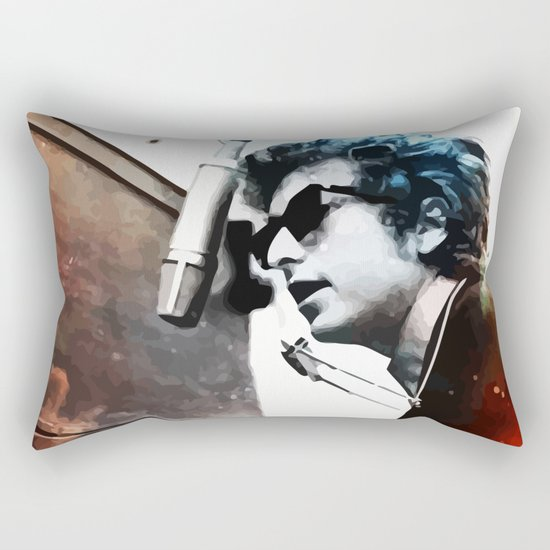 Bob Dylan Rectangular Pillow