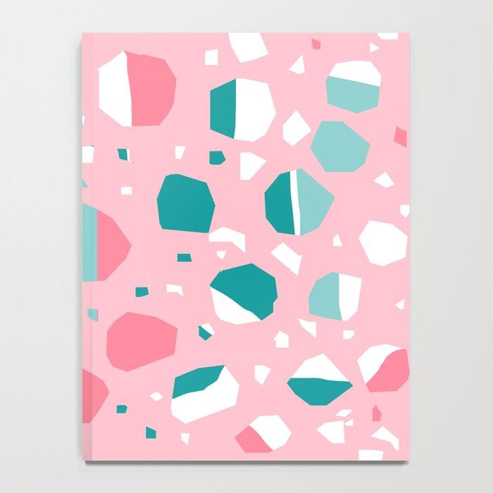 Airhead - memphis throwback retro vintage pastel pink palm springs socal california dreamer pop art Notebook