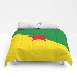 French Guiana Flag Comforters