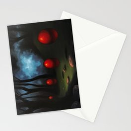 March of the Red Balloons #7 Stationery Cards