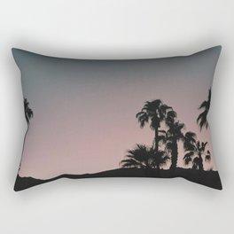 Palmtrees Sunset Rectangular Pillow